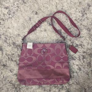 Coach - Pink Sidebag